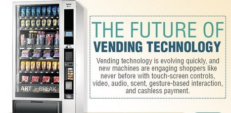 The Future of Vending Technology and Smart Vending Machines – Infographic | Digital for smart retail | Scoop.it