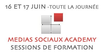 Medias Sociaux Academy – sessions de formation – 16 et 17 juin : La Cantine | Toulouse networks | Scoop.it