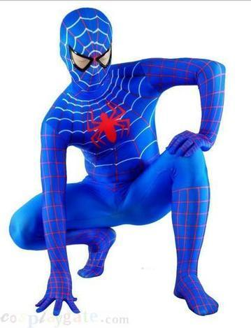 Blue Lycra spiderman Costume free shipping - wholesale Lycra Spandex Zentai Suits - wholesale Catsuits & Zentai - CosplayGate.Com | spiderman suit,spiderman costumes wholesale | Scoop.it