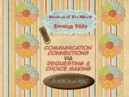 Communication Connections | Beginning Communicators | Scoop.it
