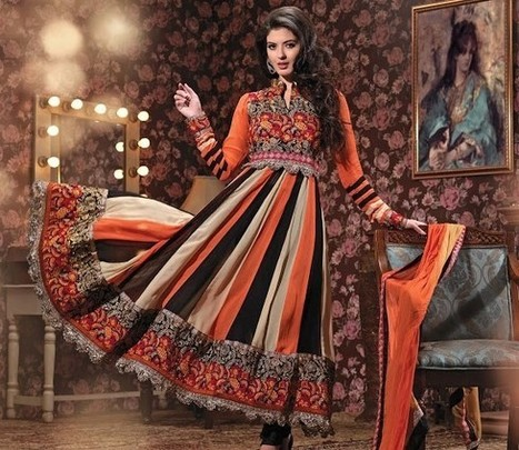 Stylish Party Wear Dresses|Girls Collection 2014 - ..:: Fashion Wd Passion ::.. | Wear Fashion with Style | Scoop.it