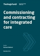 Commissioning and contracting for integrated care | Integrated commissioning | Scoop.it