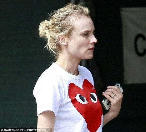 Is Actress Diane Kruger Experiencing Female Hair Loss? | female hair loss | Scoop.it