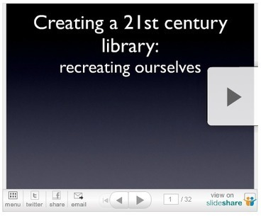 What libraries can learn from Apple about reinvention - Slideshare | Library Corner | Scoop.it