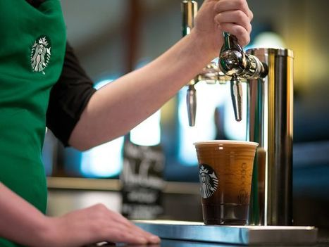 Starbucks puts coffee on tap with nitro cold brew | Coffee News | Scoop.it