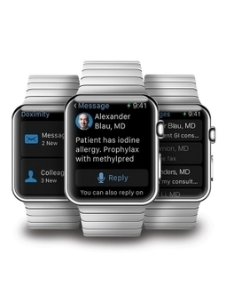 Doximity launching app for the Apple Watch   Interface Usability and Interaction   Scoop.it