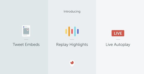 Introducing Replay Highlights, Periscope Tweet Embeds and Live Autoplay | SportonRadio | Scoop.it