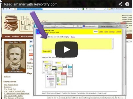 Free Technology for Teachers: Rewordify Helps Students Read Complex Passages | Educational | Scoop.it