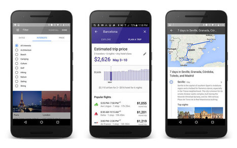 Everything You Need to Know About Google's Crazy New Travel Planner | Hotel Internet Marketing | Scoop.it