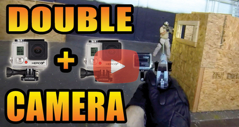 Indoor Airsoft CQB Filmed with 2 GoPro POV Cameras and Custom GoPro Pistol Mount | Airsoft Therapy | Scoop.it