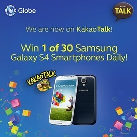 Win a Samsung Galaxy S4 daily with Globe and Kakaotalk « TechConnectPH   MyNewscoop   Scoop.it