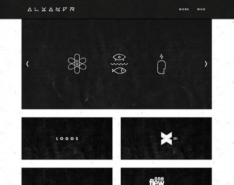 21 Inspiring Examples of Texture Use in Web Design | Inspiration | Stockturn | Scoop.it