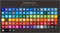 Des icônes gratuites pour les réseaux sociaux ! | Labo JNG WEB ... | Ressources graphiques | Scoop.it