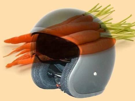 Safe motorcycle helmets - made of carrot fibers? - ScienceBlog.com   Science   Scoop.it