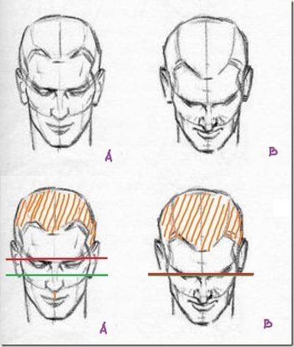 Apprendre à dessiner une tête inclinée | dessin | Scoop.it