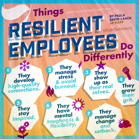 7 Things Resilient Employees Do Differently | Living Resilient | Scoop.it