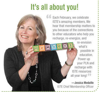 ISTE Member Appreciation Month | Flat Classroom | Scoop.it