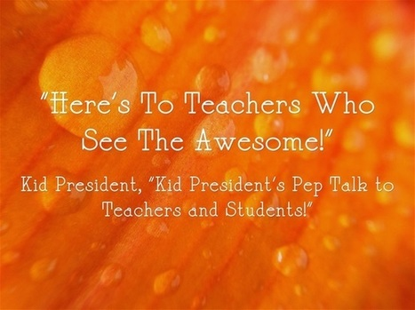 "Video: ""Kid President's Pep Talk to Teachers and Students!"" 