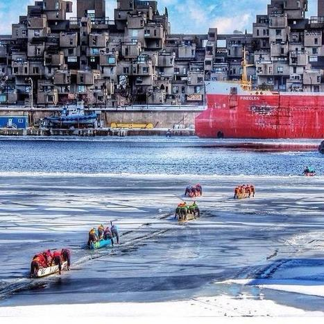"""Montreal's Old Port To Host The City's 2nd """"Ice Canoe Challenge"""" Next Month - MTL Blog (blog) 