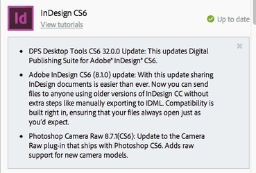 New CS6 Update Allows Opening of Newer CC Files | Artdictive Habits : Sustainable Lifestyle | Scoop.it