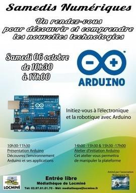 Samedis numériques : Arduino | Médiathèque de Locminé [56] | Big and Open Data, FabLab, Internet of things | Scoop.it