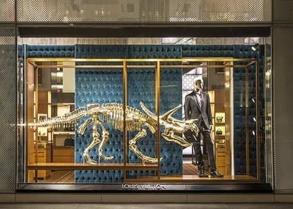 There Are Gilded Dinosaur Skeletons at Louis Vuitton   Blogs we Love   Scoop.it