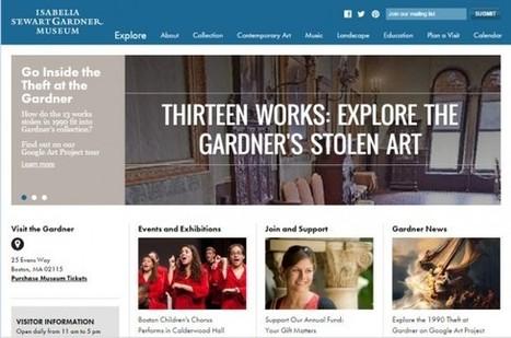 Le Gardner Museum de Boston commémore les 25 ans de son cambriolage massif avec une visite virtuelle | Scientific heritage | Scoop.it