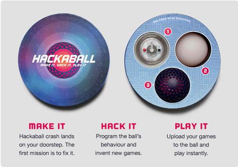 Hackaball: een bal die kinderen spelenderwijs leert programmeren - Numrush | Programmeren in het onderwijs | Scoop.it