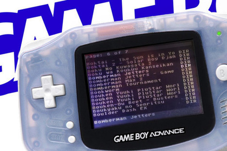 L'EverDrive Game Boy Advance pour bientôt ? » Le Mag de MO5.COM | [OH]-NEWS | Scoop.it