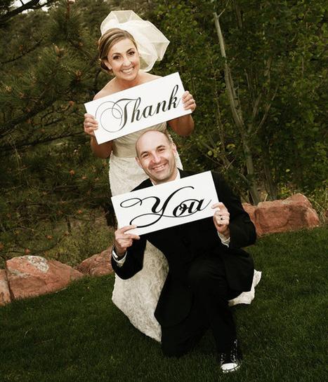 Wedding Thank You Cards - Creative Wedding Photos | Bridal Guide Magazine | Florida Wedding & Photography Tips, Ideas, Inspiration & Comic Relief | Scoop.it