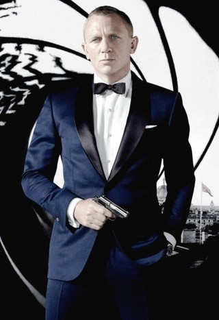 James Bond Skyfall Tuxedo Suit | Daniel Criag Midnight Blue Tuxedo | House of outfits | Scoop.it
