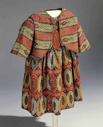 Museum Monday: Colorful Child's Dress of English blockade fabric ... | Lovely father | Scoop.it