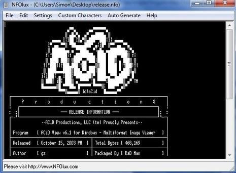 The 3 Best NFO File Readers To Open Those NFO Documents | ASCII Art | Scoop.it