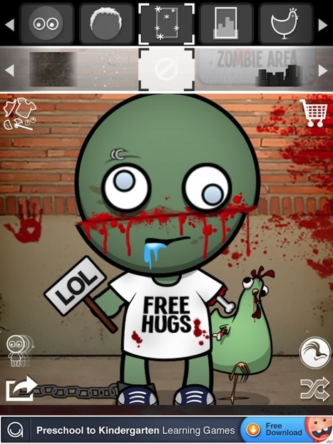 Quirky App Of The Day: Creating Zombies Without Using Solaris And Human Test Subjects | Winning The Internet | Scoop.it