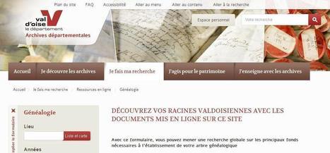 AD 95 : Des ancêtres immigrés ? | Cercle Genealogique de Maisons ... | Histoire Familiale | Scoop.it