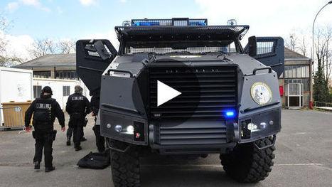 VIDEO - Titus : découvrez l'incroyable camion blindé de la BRI | DEFENSE NEWS | Scoop.it
