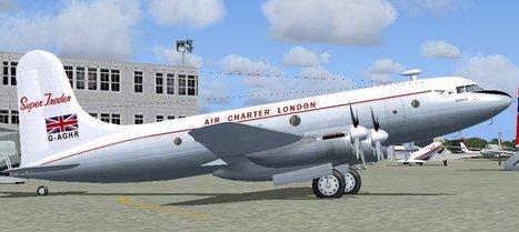 FSX FS2004 Avro Tudor - Flight Simulator X Flight Simulator 2004 Avro Tudor | Fan d'aviation | Scoop.it