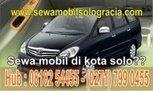 sewa mobil solo gracia | RENTAL MOBIL DI SOLO | Scoop.it