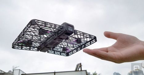 Hover Camera is a safe and foldable drone that follows you | Drone | Scoop.it