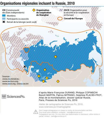 Russie, organisations régionales - 2010 | Europe Centrale | Scoop.it