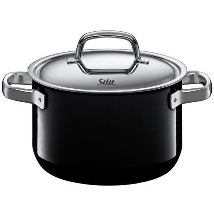 Silit Fresh 4-Quart High Casserole with Lid, Piano Black | Best Cookware Tools Review | Scoop.it