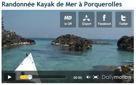 Randonnée Kayak de Mer à Porquerolles - Kayak de mer à Marseille au CNPRS, club et sorties de kayak de mer   Le kayak de mer   Scoop.it