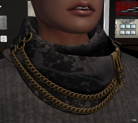 Legend Scarf L'HOMME Magazine Group Gift by RealEvil Industries   Secondlife freebies   Scoop.it
