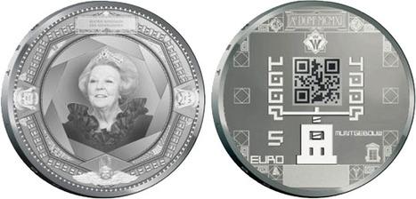 Des pièces de 5 et 10 euros avec des QR Codes bientôt dans vos poches. | Holytag : Code barres 2D et solutions marketing mobiles | Scoop.it