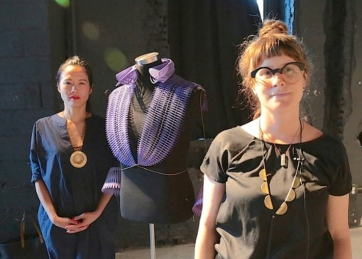 Young Designers Explore New Dimensions In Fashion At 3D-Printed Re-Making ... - Tech Times | Machinimania | Scoop.it