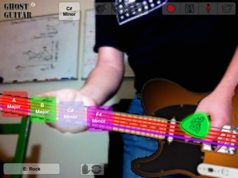 Ghost Guitar: Una Air Guitar en realidad aumentada para iOS | Realidad aumentada | Scoop.it