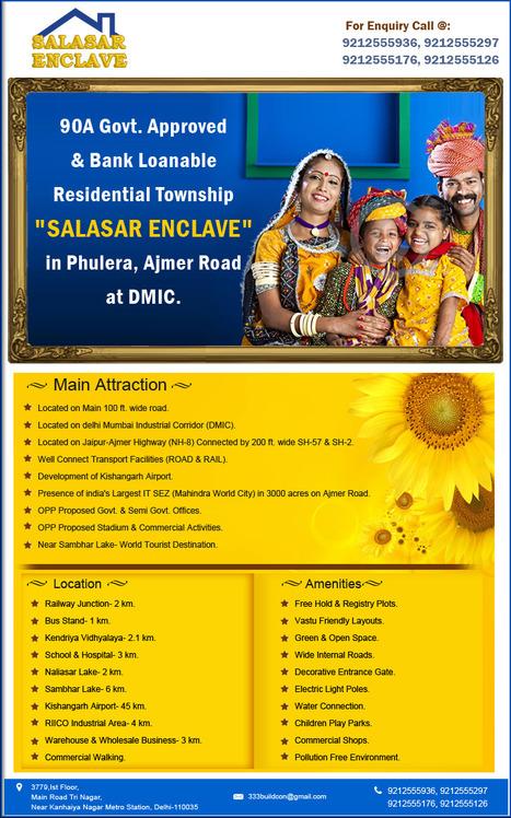 Salasar Enclave in Phulera | Plot in Phulera | Indian Property Portal | Scoop.it