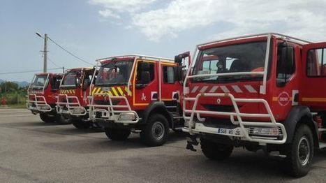 Drôme : les pompiers en alerte sur les feux de forêt   Sapeurs-pompiers de France   Scoop.it