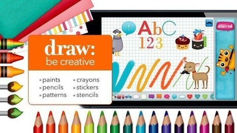 Draw and Tell – UKEdChat.com | ICTmagic | Scoop.it