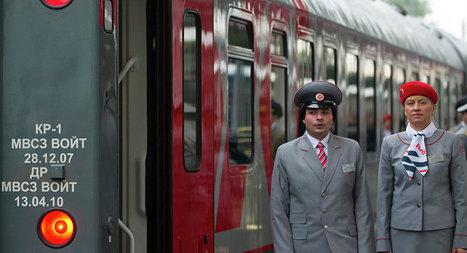 Chine: une gare à voie large pour accueillir les trains russes | Chromium | Scoop.it